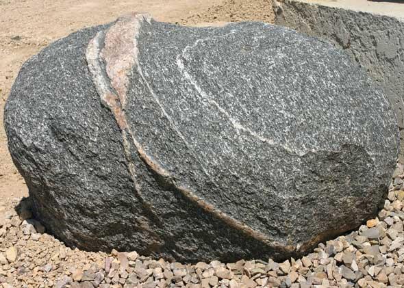 Unique accent boulders thomas tree landscape for Large landscape boulders